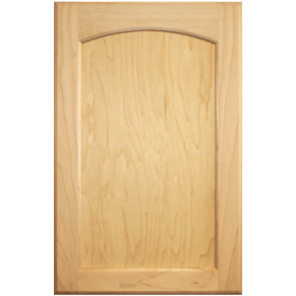 flat panel raised arch